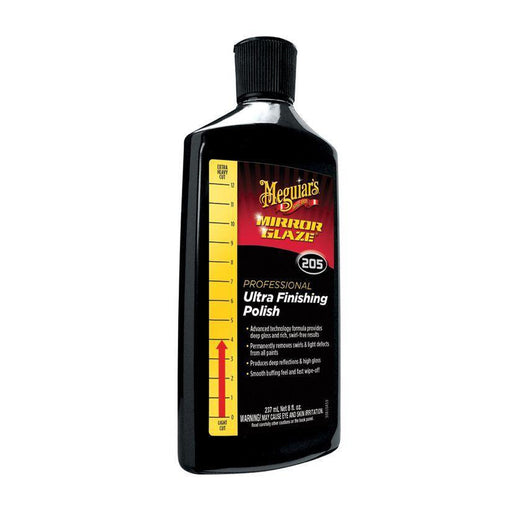 Meguiars M205 Ultra Finishing Polish-Wax, Polish and Compound-Meguiar's-8 ounce-M20508