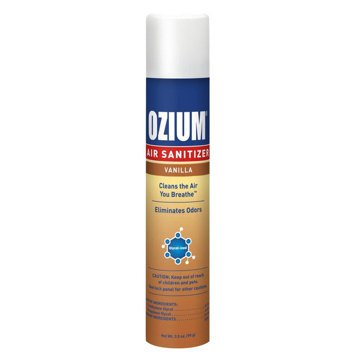 Ozium Spray 3.5 oz Vanilla