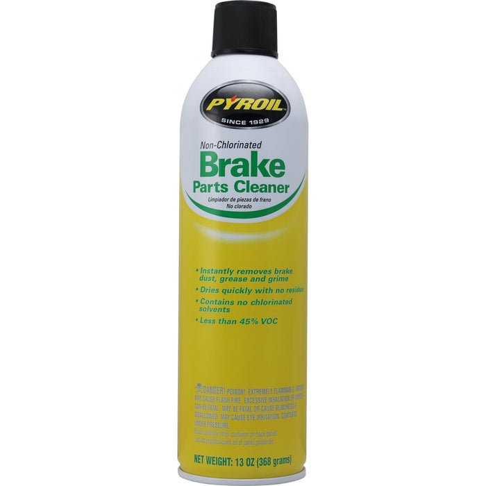 Pyroil Non-Chlorinated Low VOC Brake Parts Cleaner