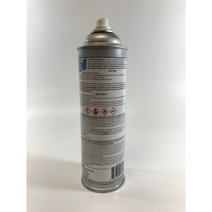 Shine Blaster II Aerosol Tire Shine-Paints, Coatings, & Dressings Aerosols-Hi Tech Industries-HT 18017