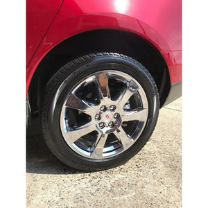 Aerosol Tire Dressing on tires
