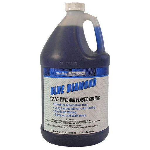 Sterling Laboratories Blue Diamond Vinyl and Plastic Coating-Automotive Detailing Chemicals-Sterling Laboratories-1 Gallon-216-01