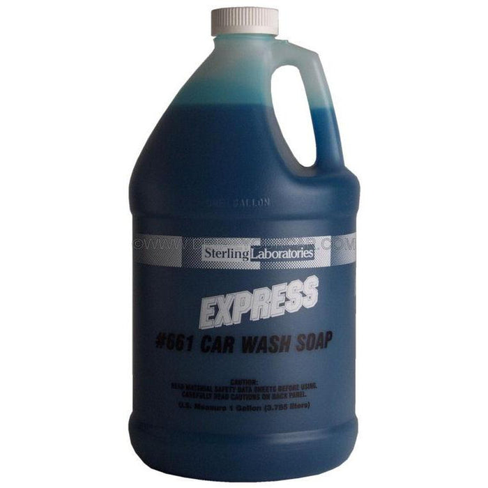 Sterling Laboratories Express Car Wash Soap-Automotive Detailing Chemicals-Sterling Laboratories-1 Gallon-661-01