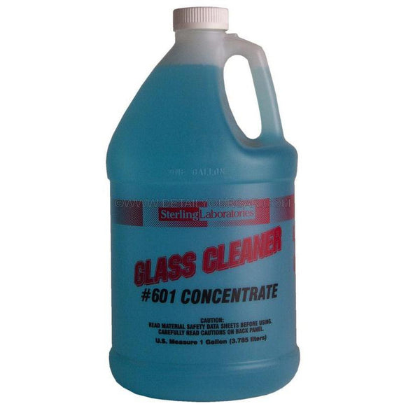 Sterling Laboratories Glass Cleaner Concentrate-Automotive Detailing Chemicals-Sterling Laboratories-1 Gallon-601-01