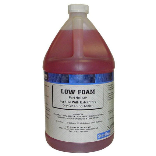 Sterling Laboratories Low Foam Carpet Cleaner Liquid-Automotive Detailing Chemicals-Sterling Laboratories-1 Gallon-420-01