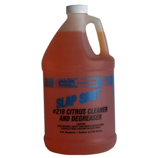Sterling Laboratories Slapshot Citrus Cleaner and Degreaser-Automotive Detailing Chemicals-Sterling Laboratories-1 Gallon-218-01