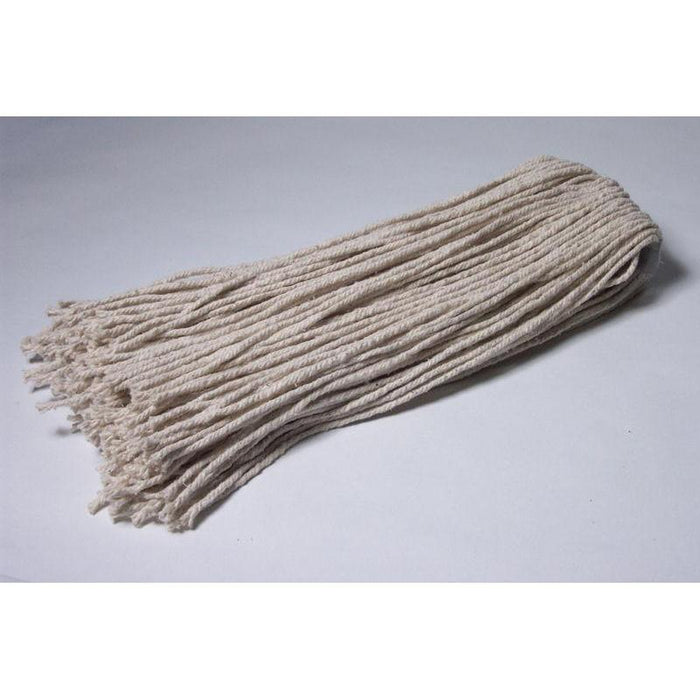 12 Best Quality 4-Ply Cotton - Poly Bagged-Mop Heads-Hi Tech Industries-N12PB