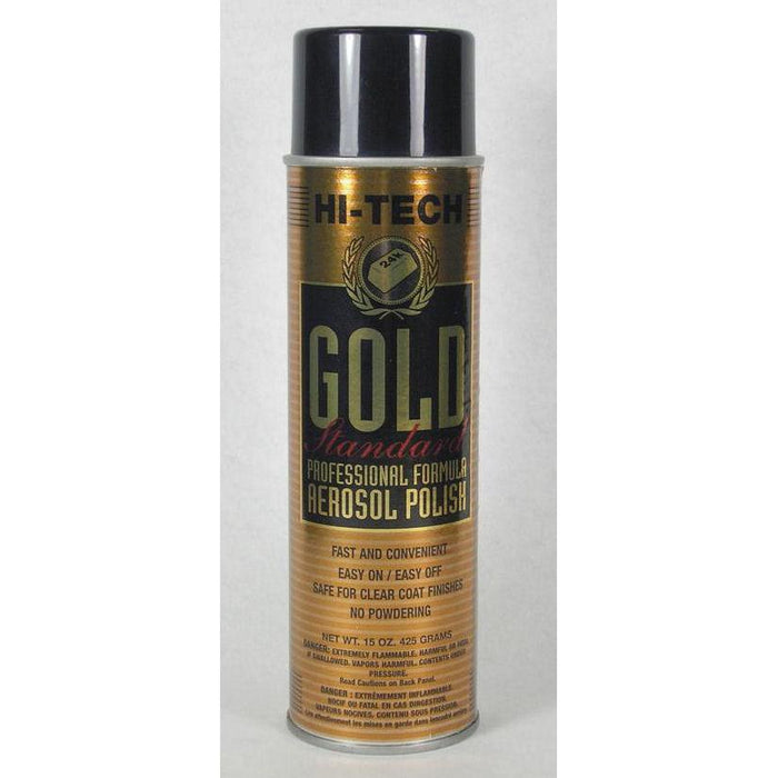 Gold Standard Aerosol Polish-Cleaners & Specialty Aerosols-Hi Tech Industries-HT 18050