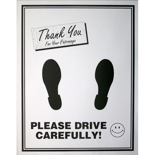 Embossed Photo Paper Floor Mats - 250 ct. box