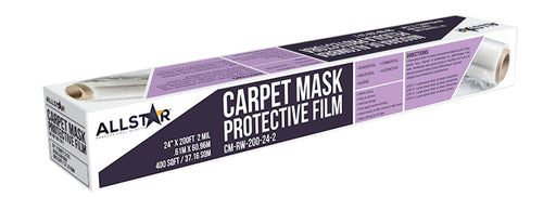 Carpet Mask Protective Film - Reverse Wind 50' Roll