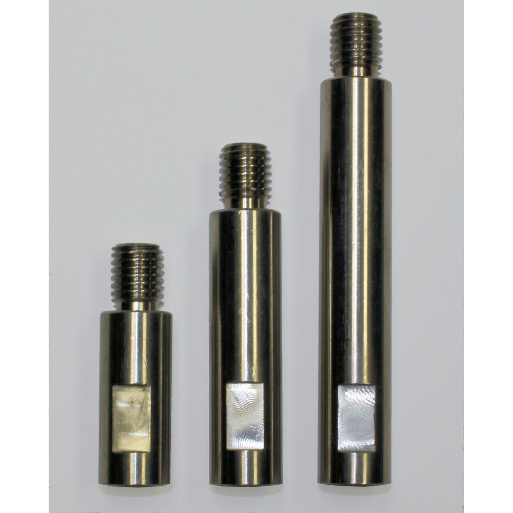 "Extension Shaft Set of 3 for 1"", 2"" & 3"" Backers-Backers-Hi Tech Industries-EX-100"