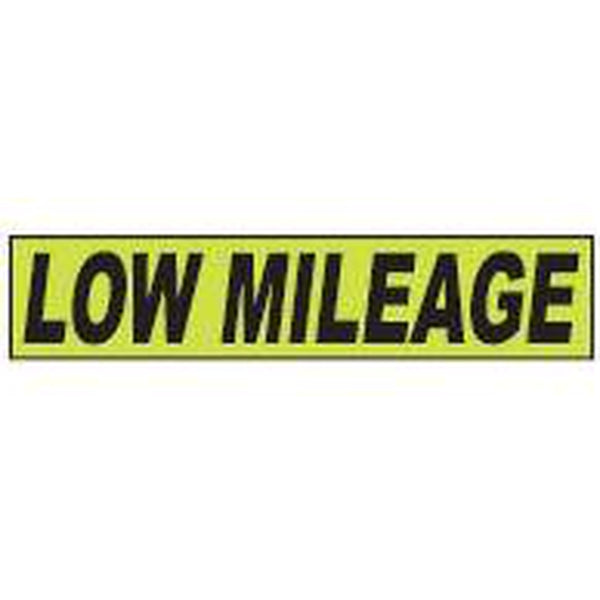 "Shadow Slogan-""Low Mileage"" Dozen/Pack"