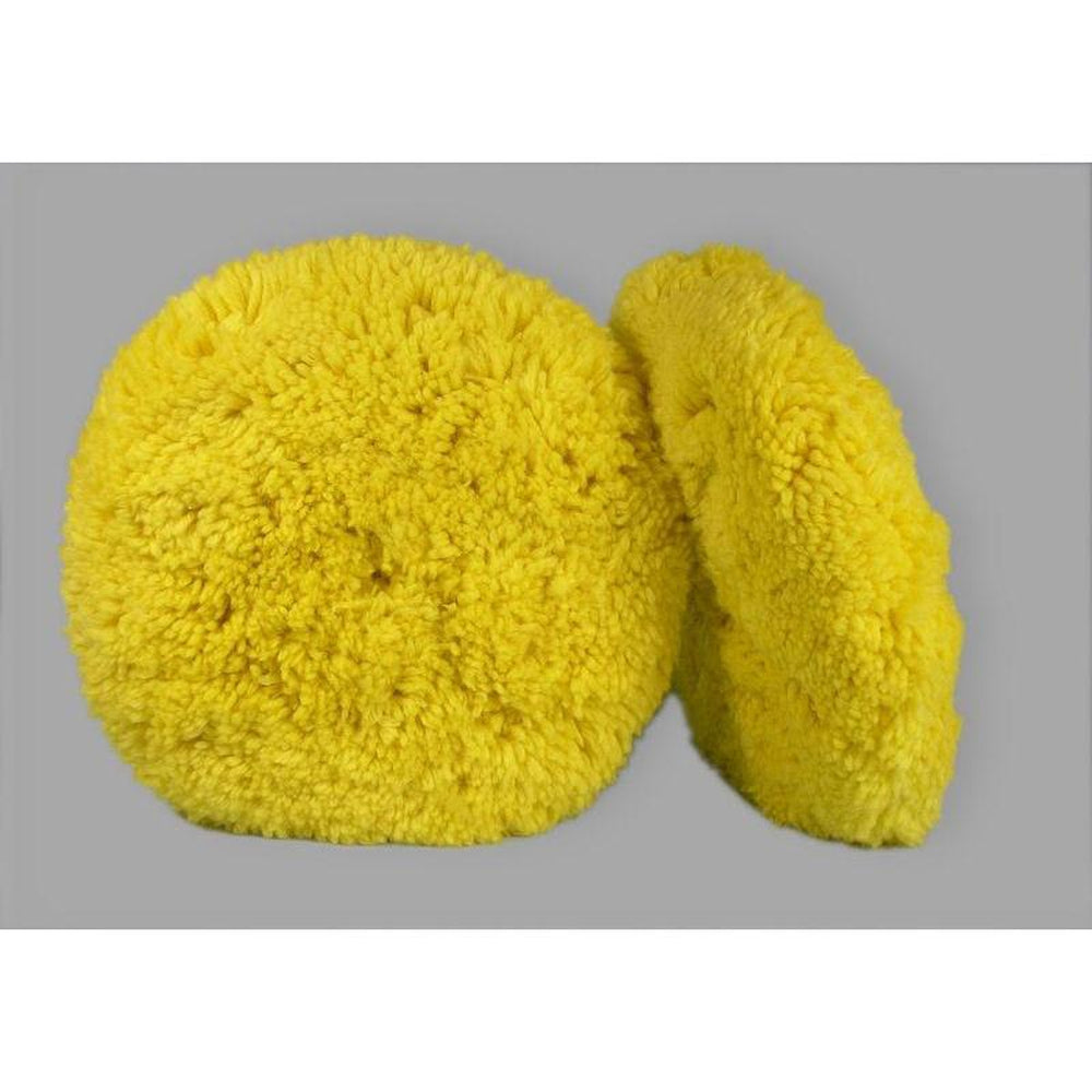"Double Sided Wool Blend Polishing - 8""-Hi-Buff® Wool and Microfiber Pads-Hi Tech Industries-HB 711"