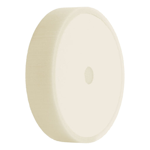 "6.5"" Heavy Cut White Foam-Hi-Buff® Foam Pads-Hi Tech Industries-HB-16"