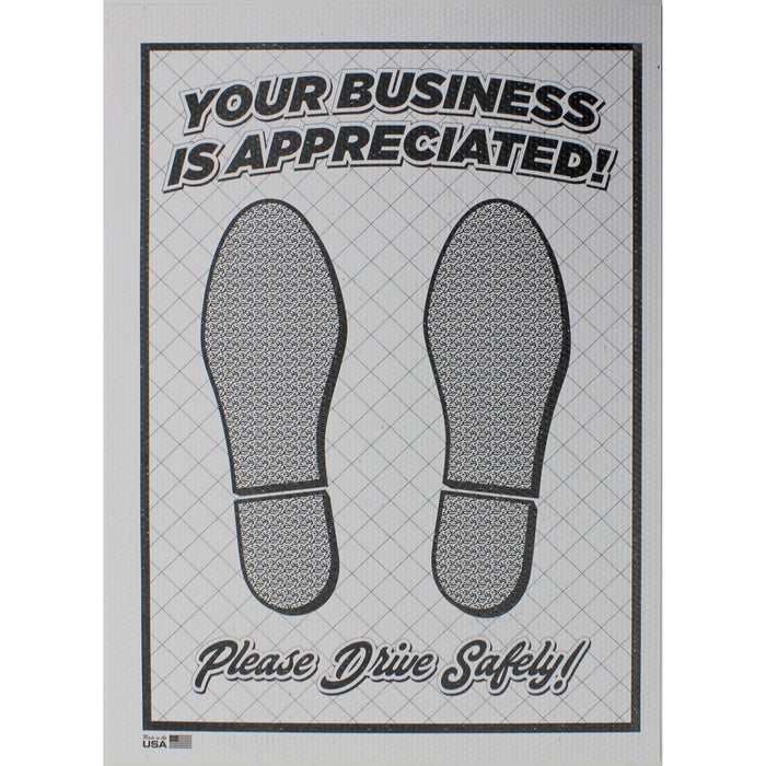 Dimpled Poly Paper Floor Mats - 250 ct. box-Floor Mats & Accessories-Hi Tech Industries-KP-25D