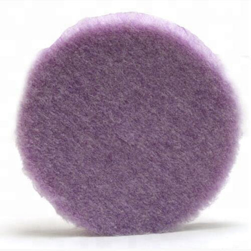 Purple Foamed Wool Pad (Available in 3 Diameters)-Hi-Buff® Wool and Microfiber Pads-Discount Car Care Products-