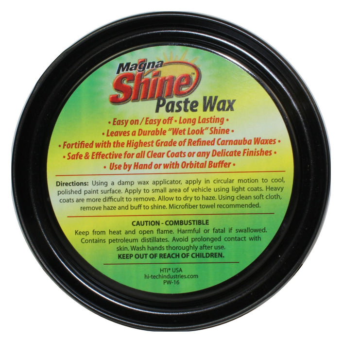 Magna Shine Paste Wax - 16 oz. Unlabeled