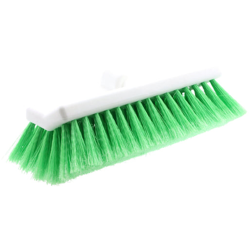 "Hi-Tech Industries TB-10DF 10"" Green Bi-Level Wash Brush"