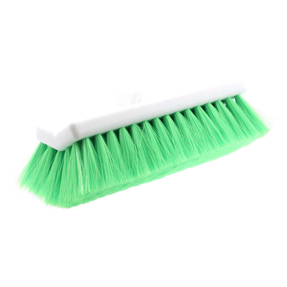 "Hi-Tech Industries TB-10DFCR 10"" Green Bi-Level Wash Brush"