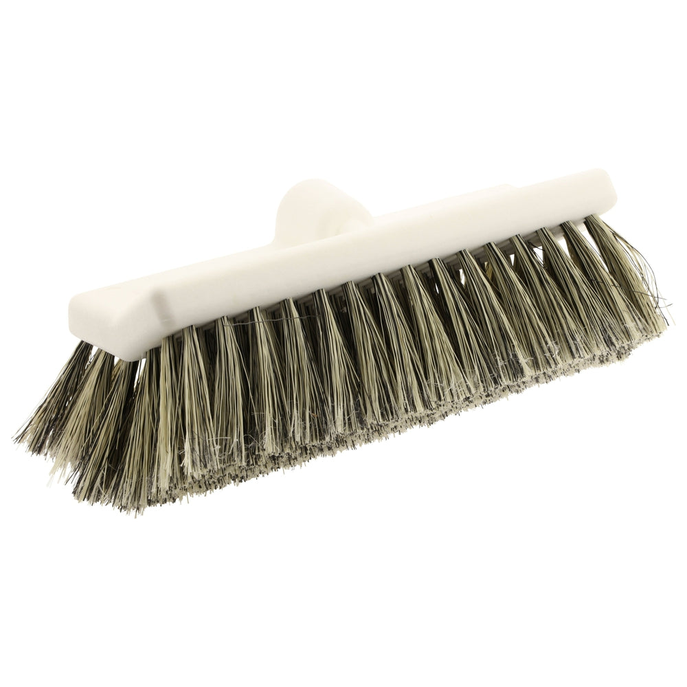 Bi-Level Nylex Wash Brush - Salt & Pepper 10""