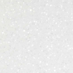 White Siser Glitter Vinyl By The sheet 12 inch by 10 inch