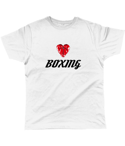 Love Boxing White T-shirt
