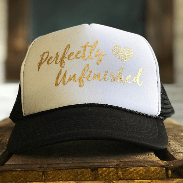 Perfectly Unfinished Hat