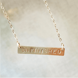 Unfinished - Necklace