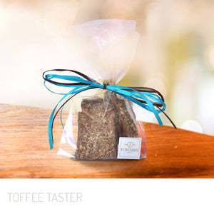 Fowler's Toffee 1/4 Pound Toffee Taster Bag