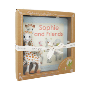 Set Sophie la girafe & Sophie and friends book