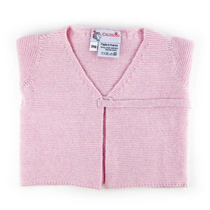 Little Royals Baby the Tie-Front Sweater - Pink