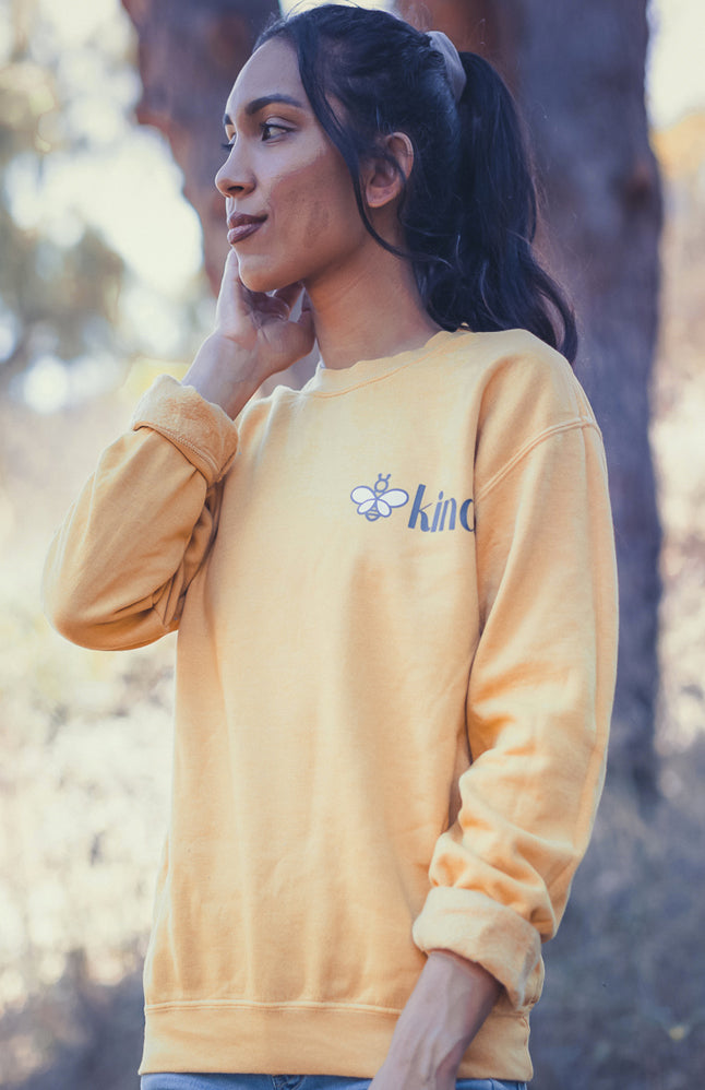 Bee Kind Pullover - Live Life Clothing Co