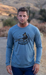 Mens Fish Life Longsleeve