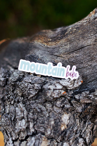 Mountain Babe Decal - Live Life Clothing Co
