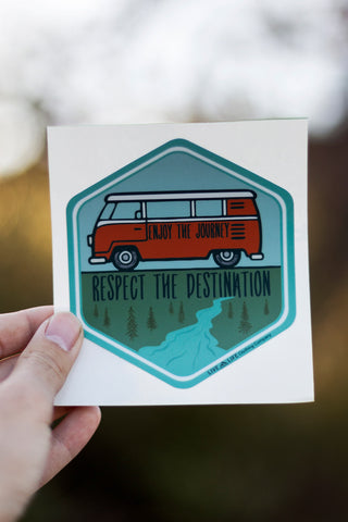 Van Custom Stickers and Decal - Live Life Clothing Co