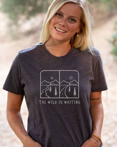 The Wild is Waiting Tee