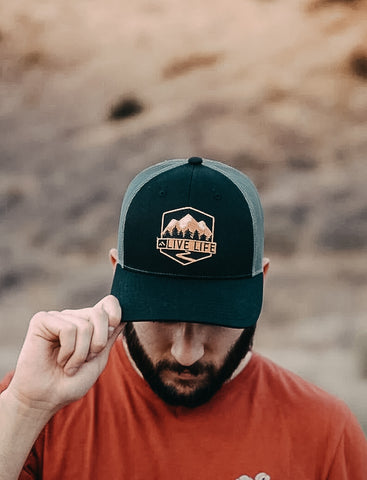 Premium Badge Hat - Live Life Clothing Co