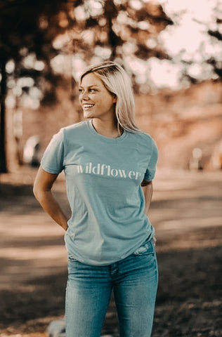 Wildflower Tee - Live Life Clothing Co