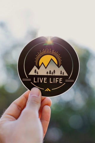Sun Life Decal - Live Life Clothing Co