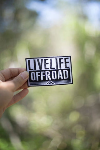 'Live Life Off-Road' Patch Decal - Live Life Clothing Co