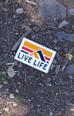 Retro Life Patch - Live Life Clothing Co
