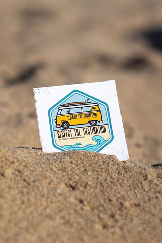 Beach Decal Sticker - Live Life Clothing Co