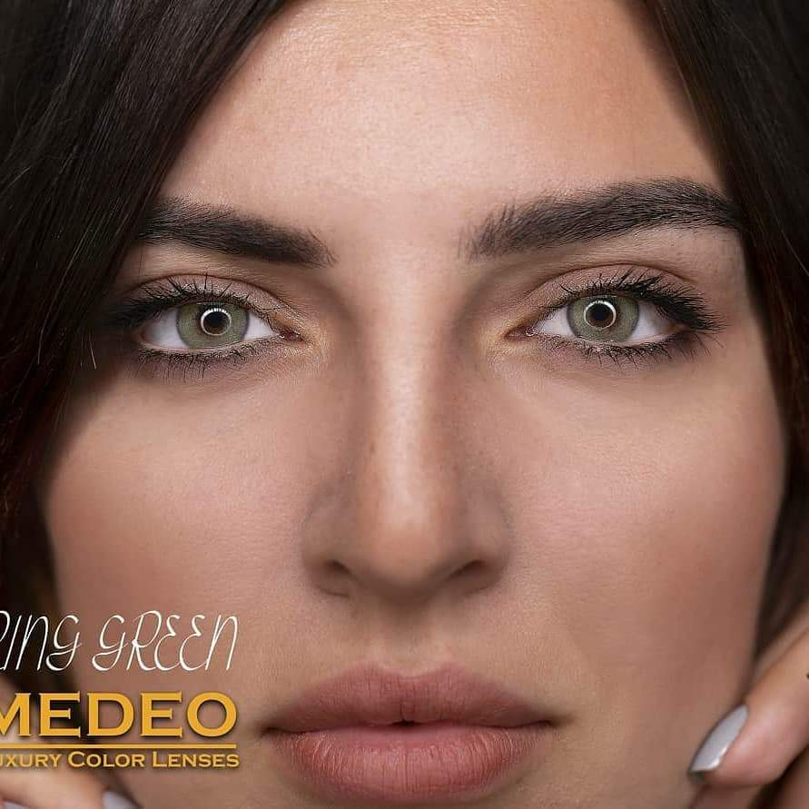Medeo Ring Green lenses