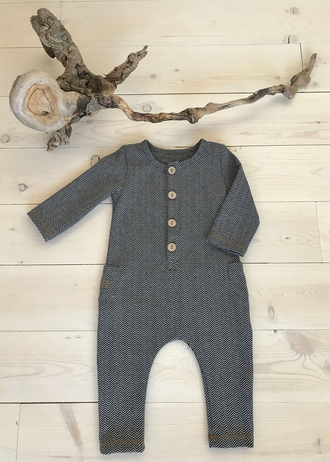 Jude Romper Long Sleeve