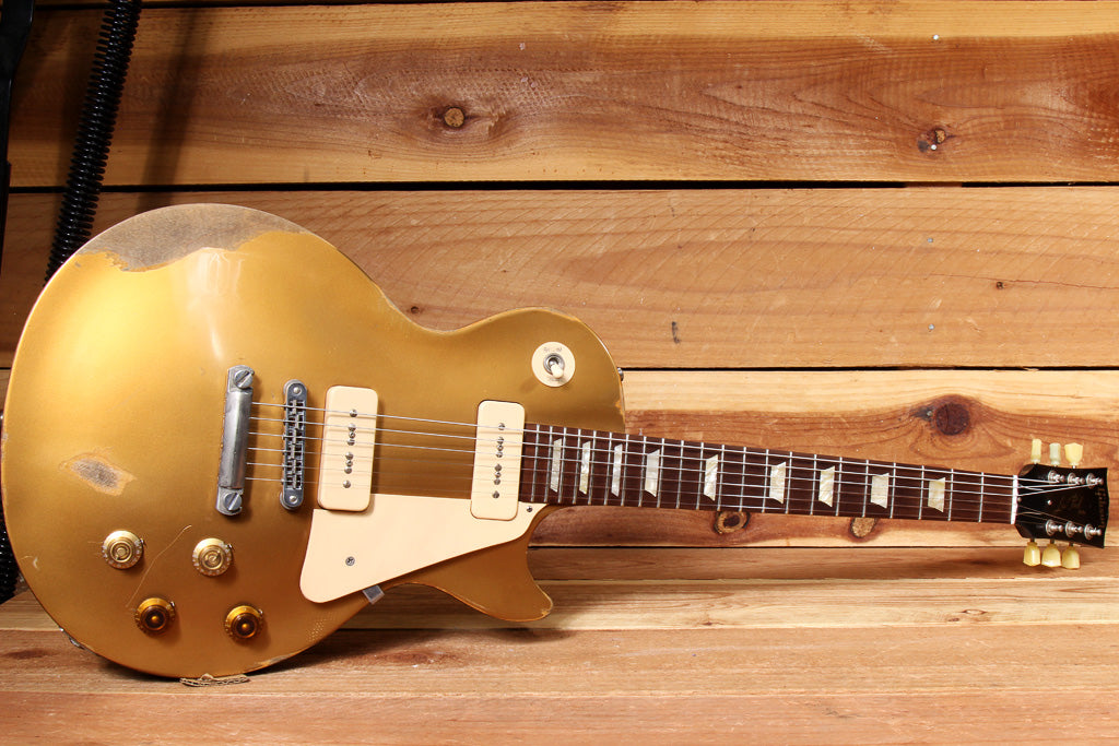 GIBSON LES PAUL 60S TRIBUTE GOLDTOP RELIC GUITAR