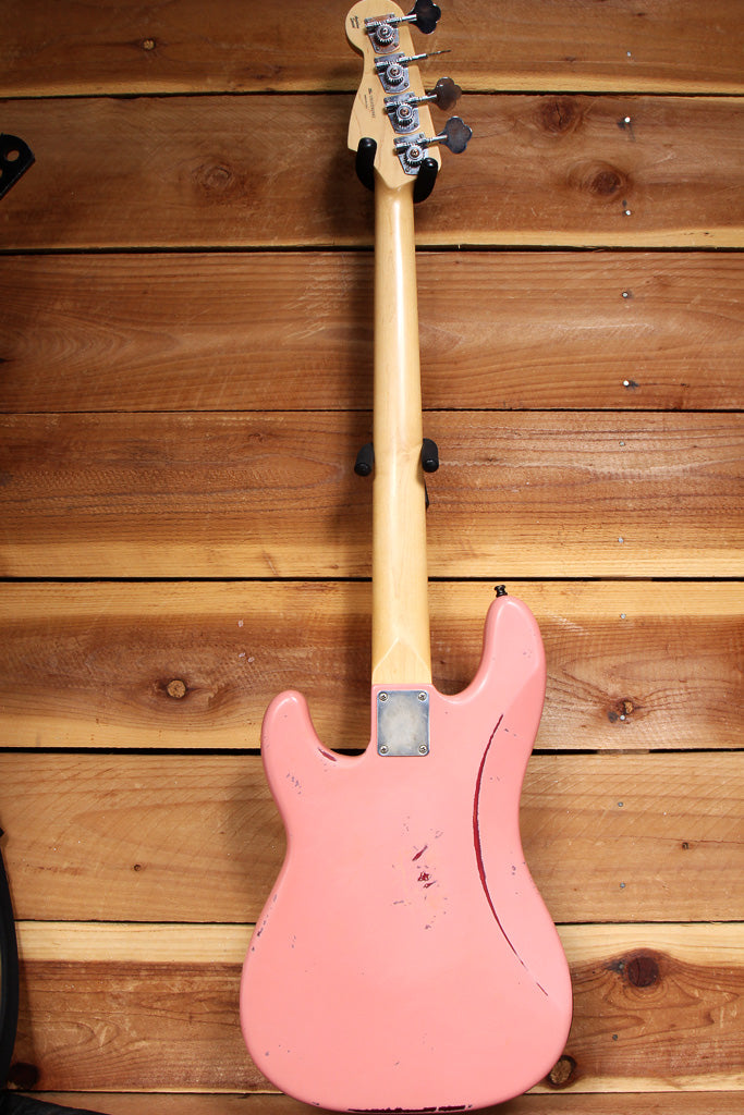 Fender USA Precision Bass Special Shell Pink Relic