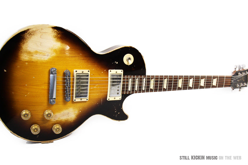 gibson 60s les paul tribute sunburst