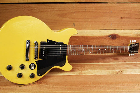 gibson les paul junior special double cutaway tv yellow finish