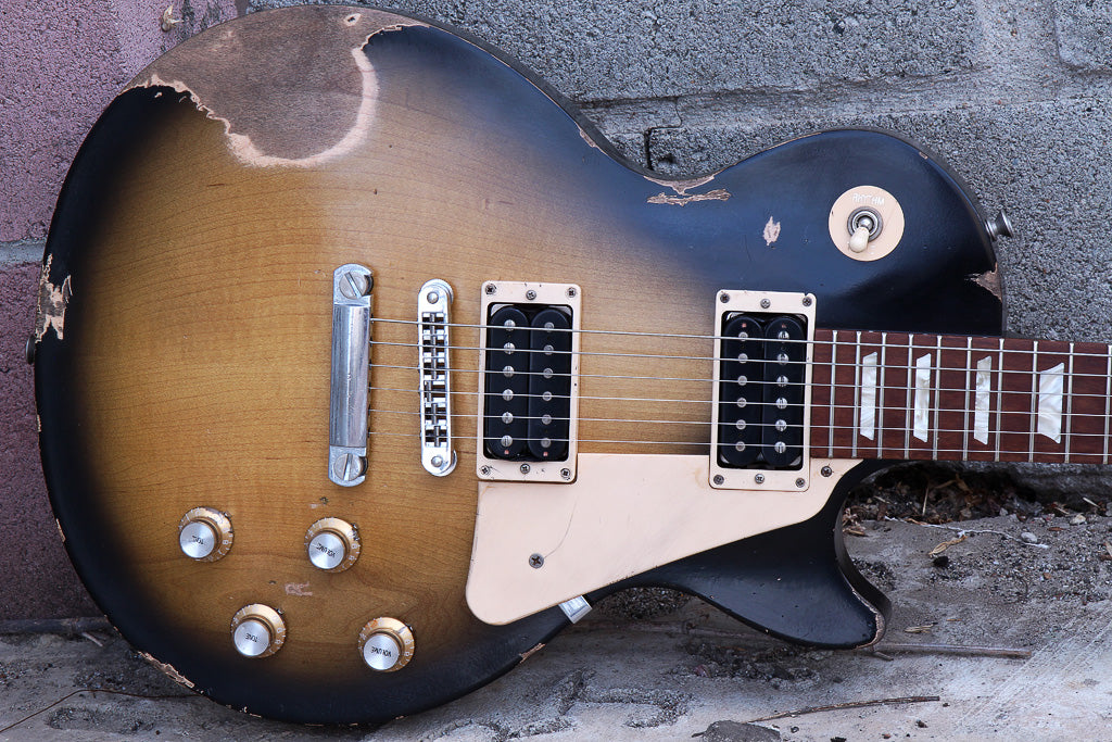 gibson les paul 60s tribute relic guitar