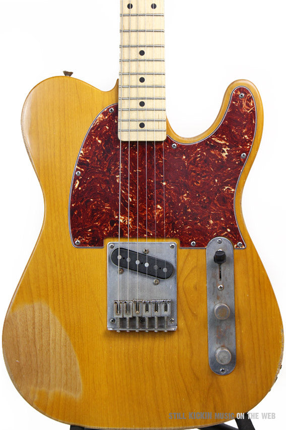 FENDER SQUIER TELECASTER ESQUIRE BUTTERSCOTCH BLOOD RELIC